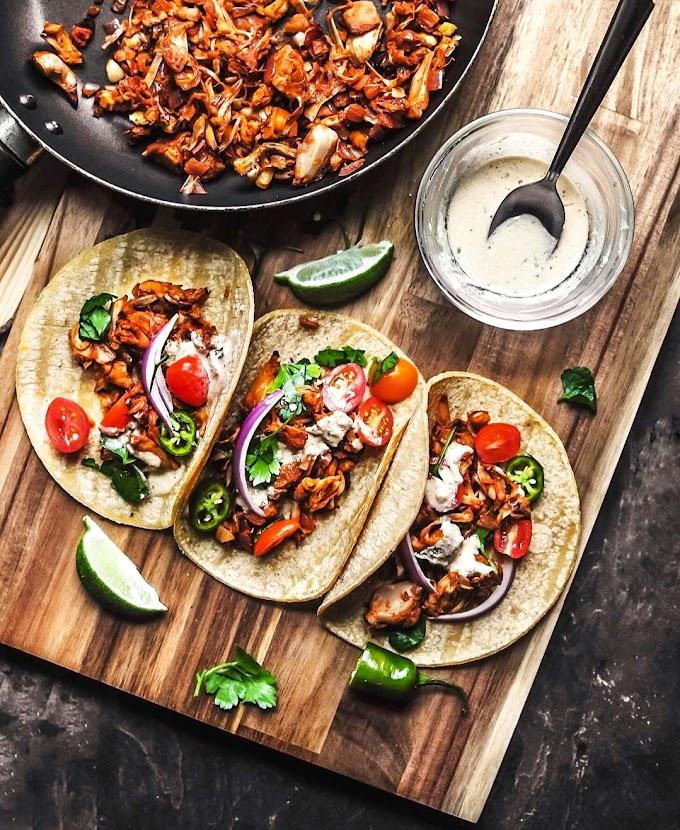 Jackfruit Carnitas Tacos Recipe | Breakfast Care