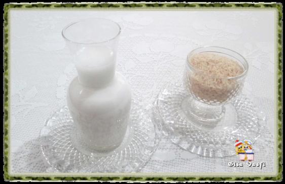 Leite de arroz 1