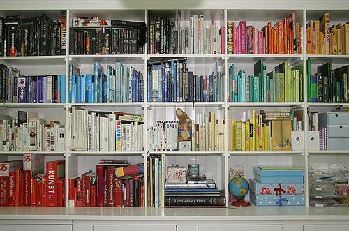 ordenar libros