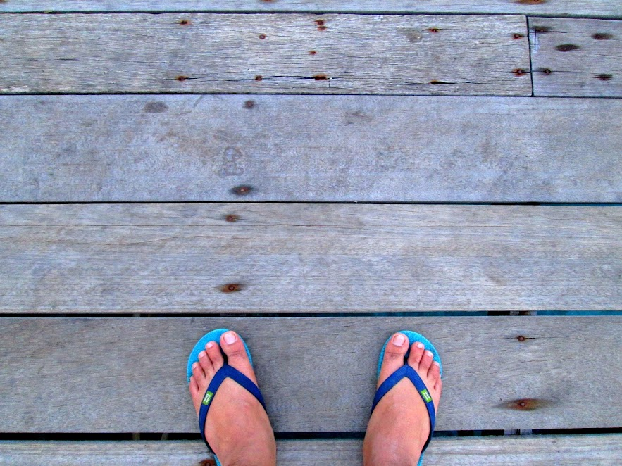 #mytravelfoot at the Panuba Inn jetty