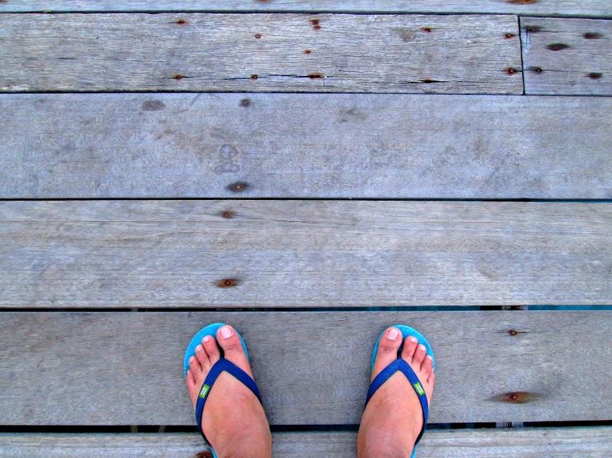 #mytravelfoot at the Panuba Inn jetty