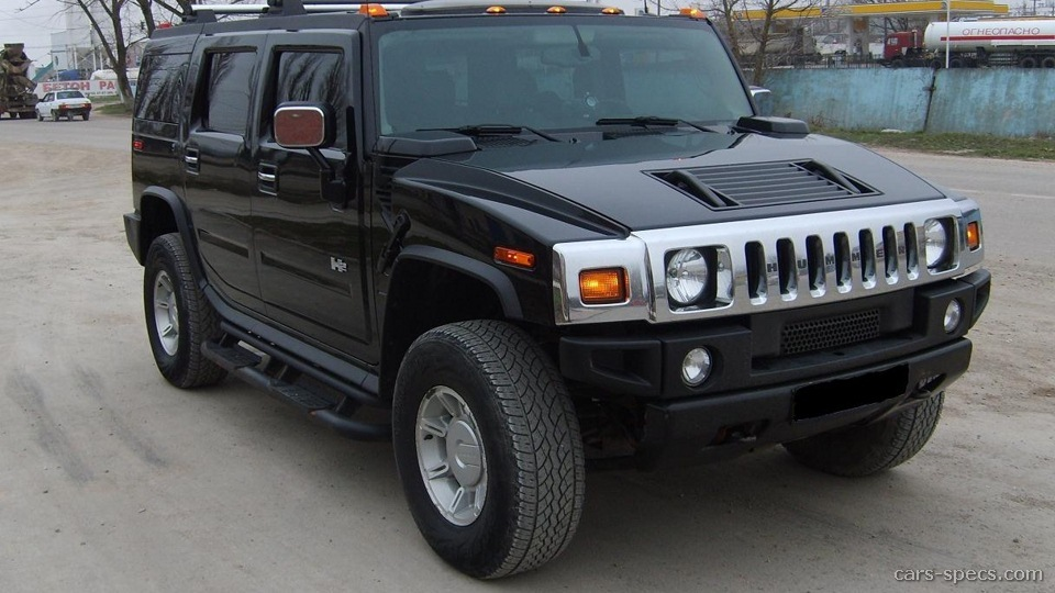 2004 hummer h2 suv specifications pictures prices. Black Bedroom Furniture Sets. Home Design Ideas