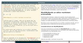 MarkMyWords un editor markdown minimalista hasta el extremo. Ejemplo.
