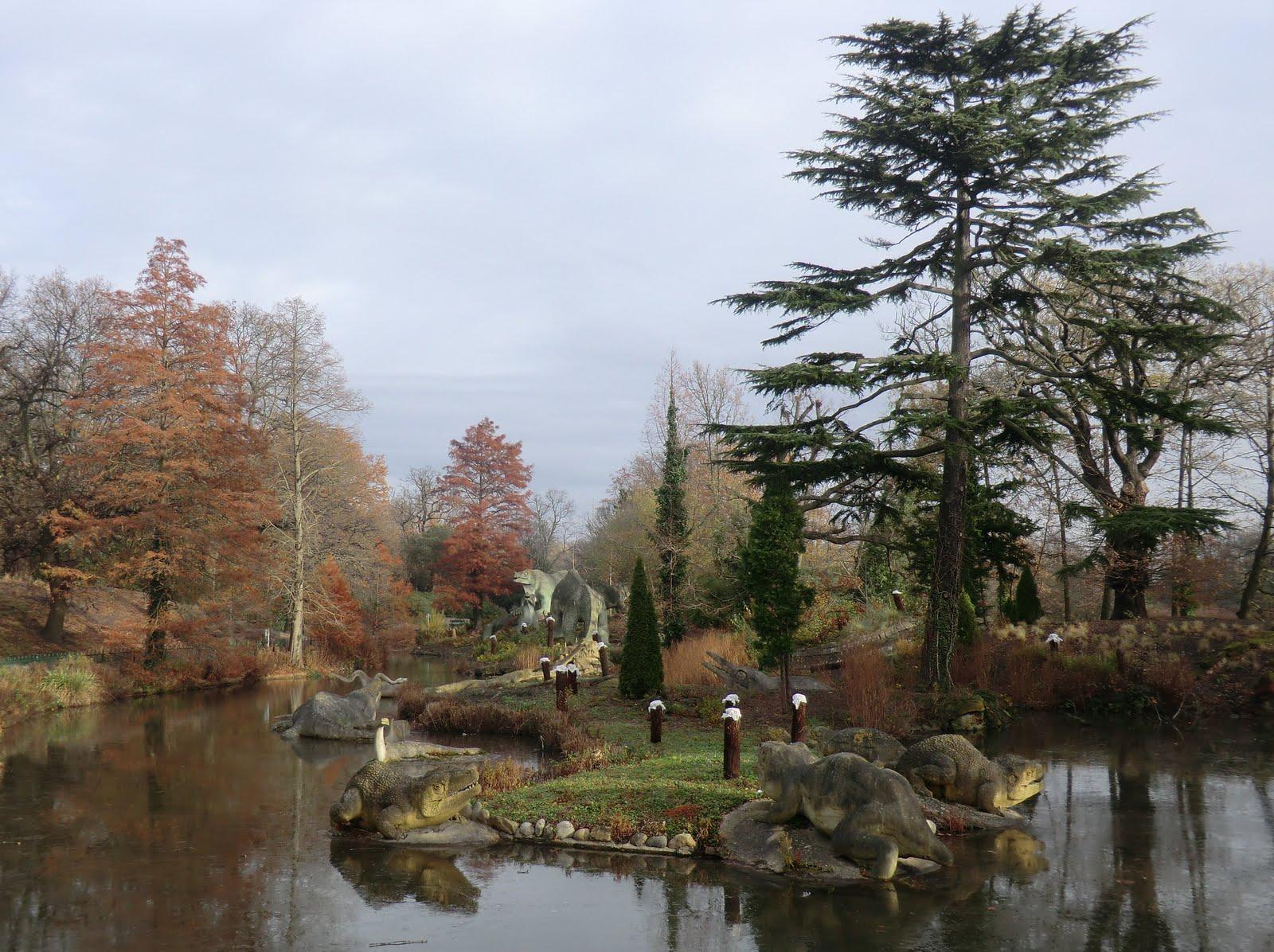 CIMG4968 Dinosaur Lake, Crystal Palace Park