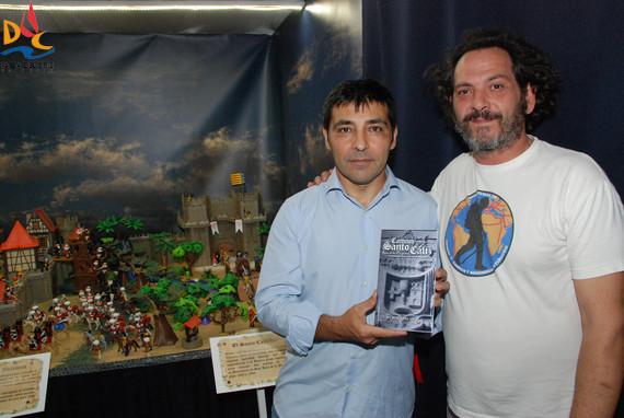 Primeras visitas a la exposición de Playmobil