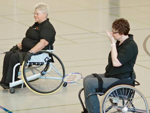 Para-Badminton-Spieltag vom 23./24.03.13 Saison 2012/13 in Berlin