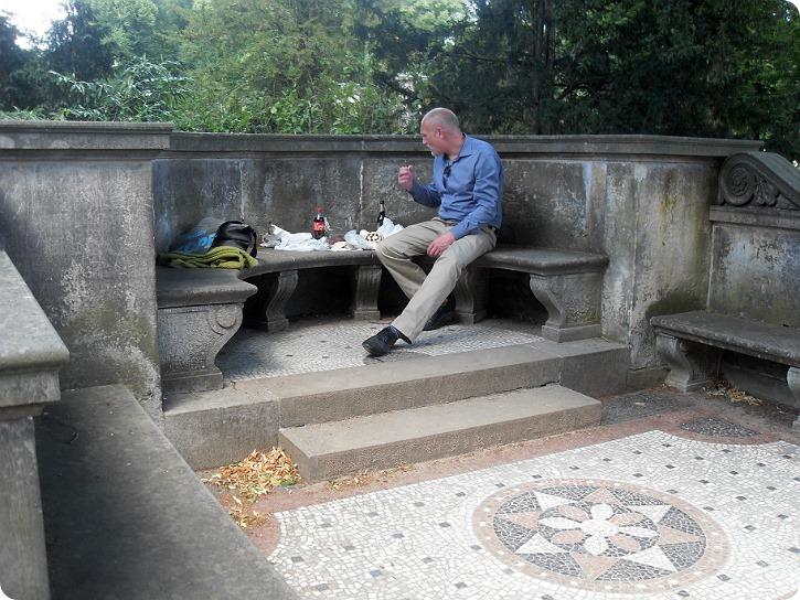 Frokost i Potsdam