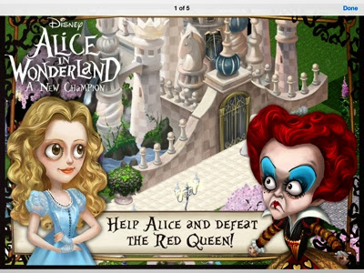 alice in wonderland game online disney