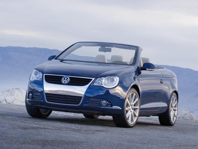 volkswagen eos convertible specifications pictures prices