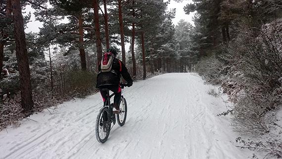 Ruta de Cercedilla a Segovia ¡con nieve!