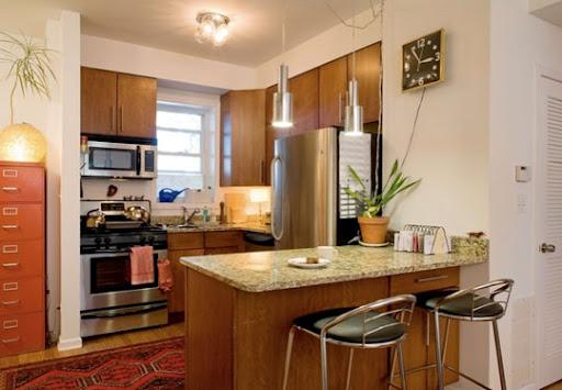 Cocinas peque as ideas para decorar cocinas peque as for Ideas para cocinas pequenas rusticas
