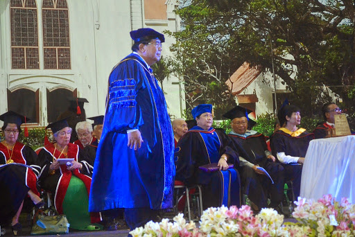 102nd University Commencement: Institute of Rehabilitative Sciences