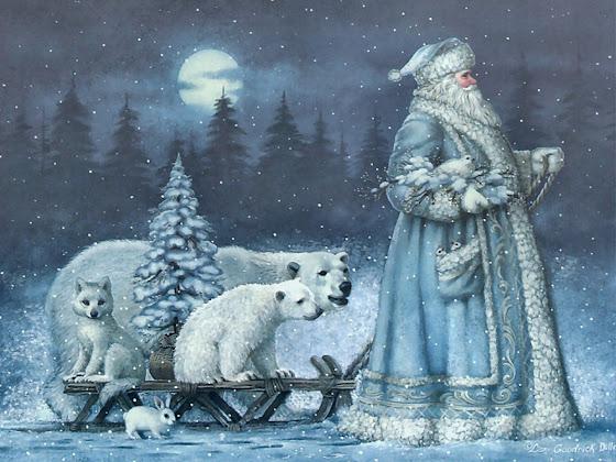 besplatne Božićne pozadine za desktop 1280x960 free download životinje čestitke blagdani Merry Christmas Djed Mraz