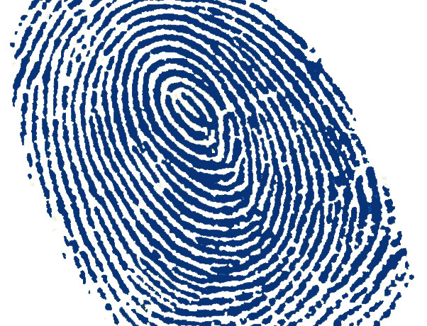 Fingerprints make bad passwords