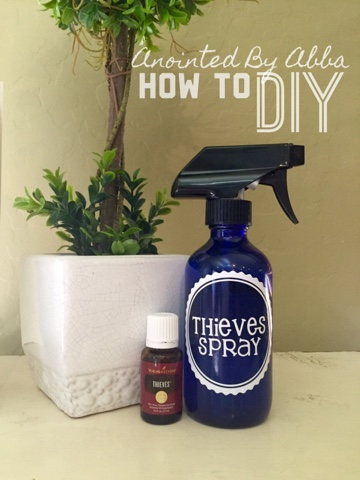 How To Diy Thieves Spray In A Pinch Anointed By Abba