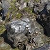 Obsidian rock. VK