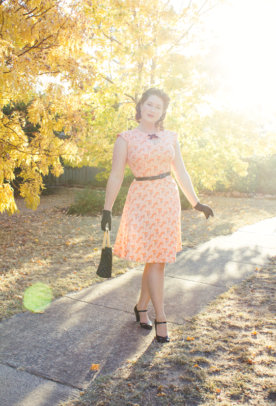 Autumn vintage style with 1940s look | Lavender & Twill