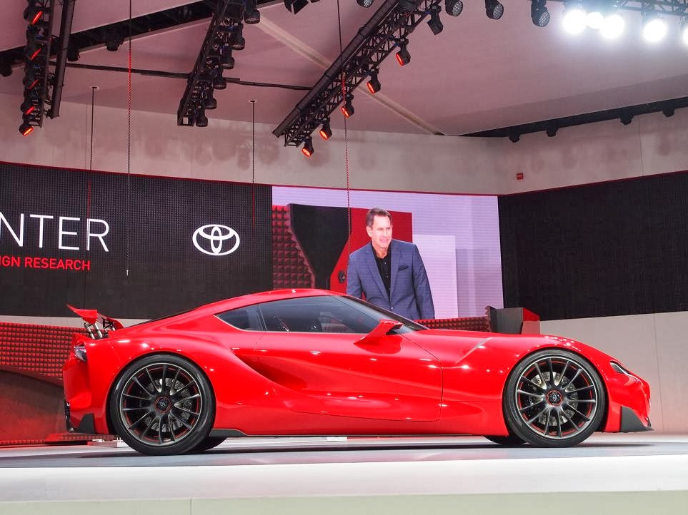 Toyota FT-1 Concept Unveiling 5