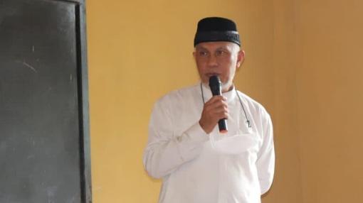 Gubernur Mahyeldi Kunjungi Pondok Pesantren Syekh H. Musa, Kabun Tapakis