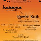 KAZAMA & NGOMBE KOLAK 2011