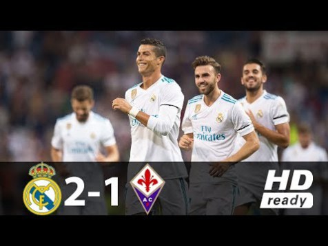 [Video] Real Madrid vs Fiorentina 2 – 1 – Highlight Club Friendly 23/08/2017