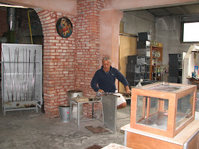 Glass blowing at Murano