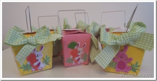 Easter Takeaway Box Favour