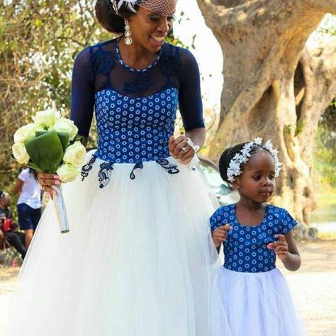 Latest Traditional Dresses 2018 South African 2
