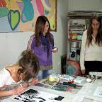 """Przygotowania do wystawy """"Wszędzie jak w domu"""" 2011"""
