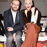 OIC - ENTSIMAGES.COM - Glen Chapman and Lewis-Duncan Weedon at the LFW a/w 2016: Niro Wang - catwalk show in London February 22nd 2016 Photo Mobis Photos/OIC 0203 174 1069