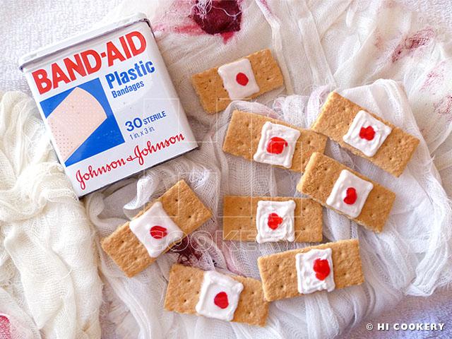 Bandage Cookies