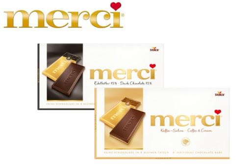 Bild für Cashback-Angebot: Merci Tafelschokolade