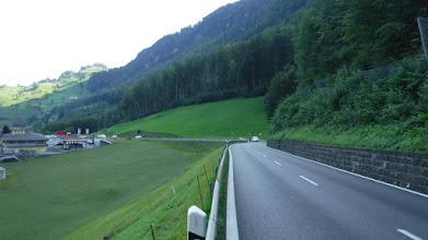 Photo: Útban Lugern felé