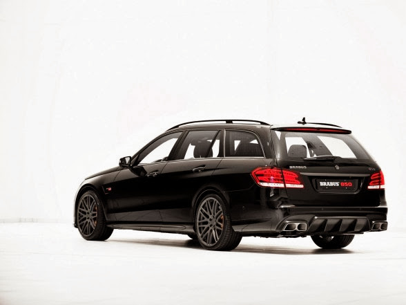 2014 Brabus Mercedes-Benz E63 AMG Wagon - Rear Side