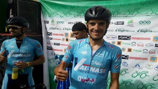 Tour international d'Annaba (2e étape): l'Italien Wackerman gagne et endosse le maillot jaune