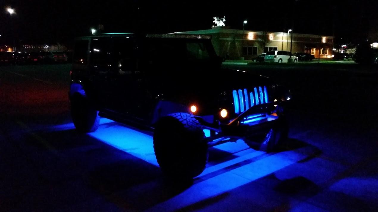 Cheap Effective Led Strip Rock Lights Jeep Wrangler Forum