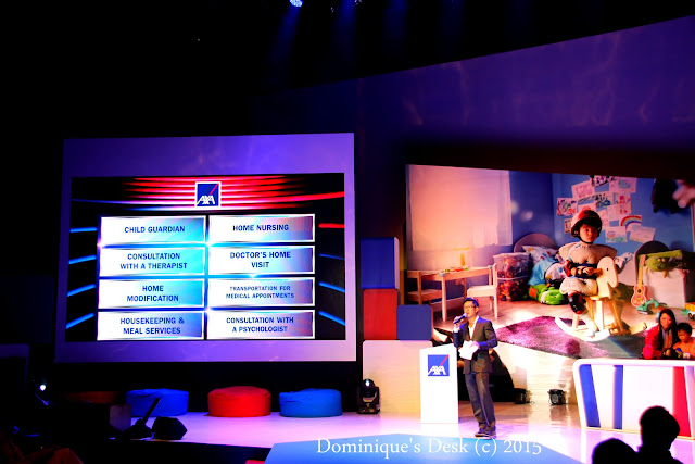 Categories which the contestants had to choose