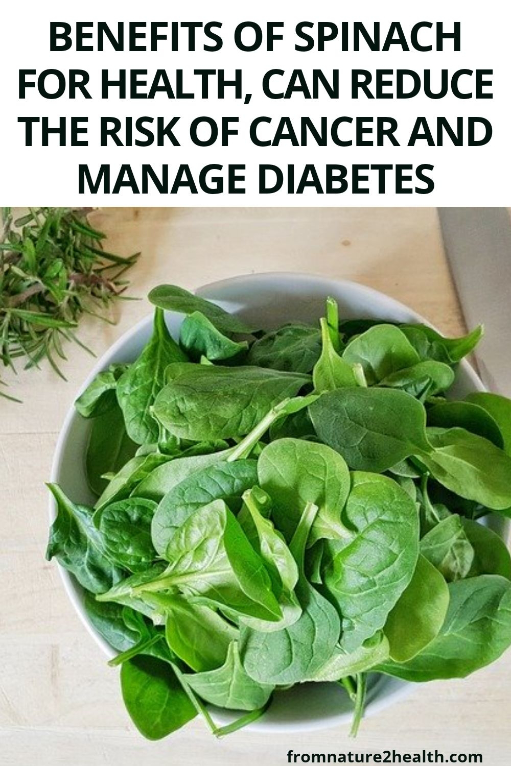 Benefits of Spinach for Health, Can Reduce the Risk of Cancer and Manage Diabetes