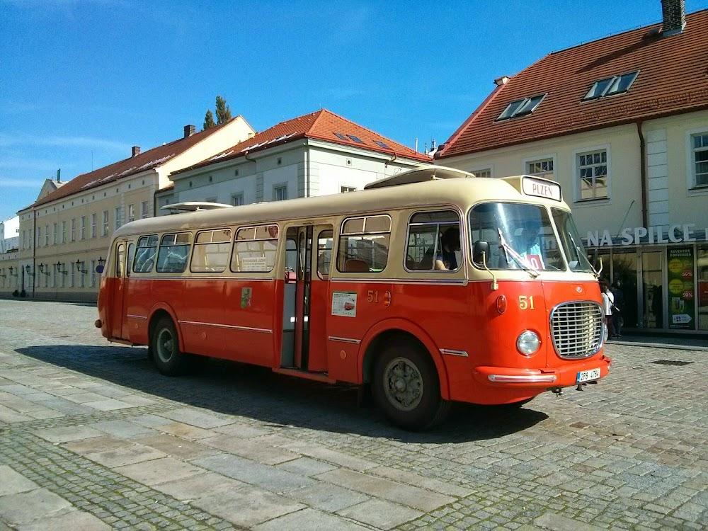 Skoda Bus in Pilzen