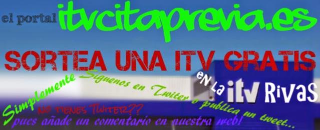 Sorteo ITV gratis en la estación de Rivas