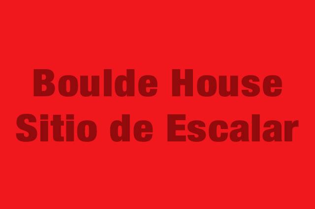 Boulde House Sitio de Escalar es Partner de la Alianza Tarjeta al 10% Efectiva