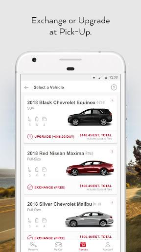 Avis Car Rental screenshot