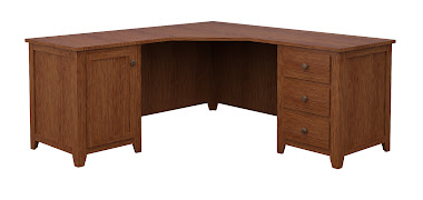 Shaker L-Shaped Desk