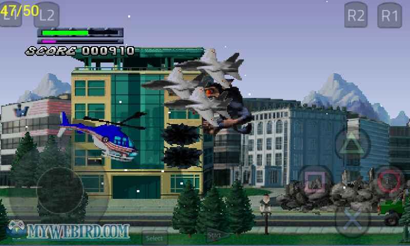Gameplay Rampage 2