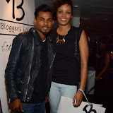 WWW.ENTSIMAGES.COM -  Shariful Haque and Oliviyah Stevens   at       Bloggers love Fashion Party at Penthouse Leicester Square September 17th 2013                                             Photo Mobis Photos/OIC 0203 174