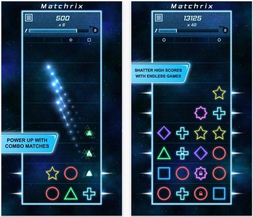 おすすめiPhoneゲームMatchrix