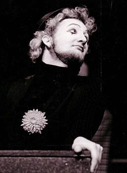 As the Mute in The Fantasticks, Meadowbrook Theater 1970