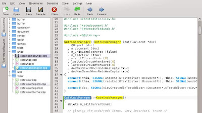 KDE 4.10: Mejoras en Kate