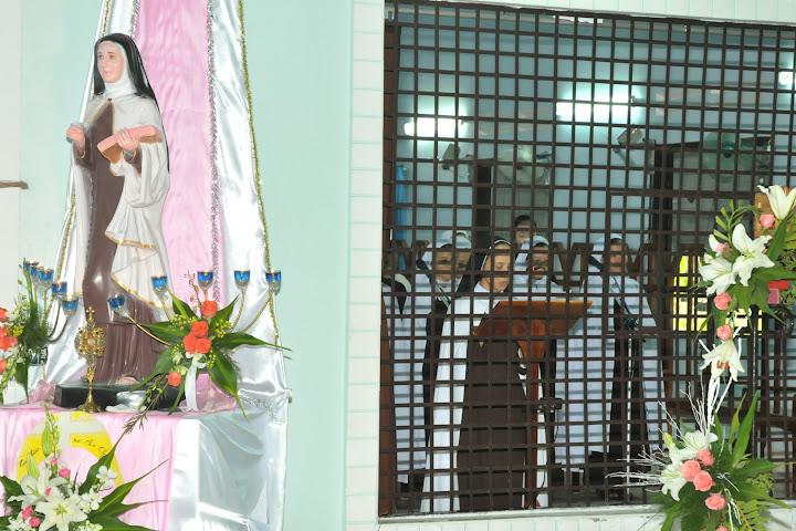 Hình ảnh thánh lễ kết thúc năm thánh tại đan viện Carmel Nha Trang