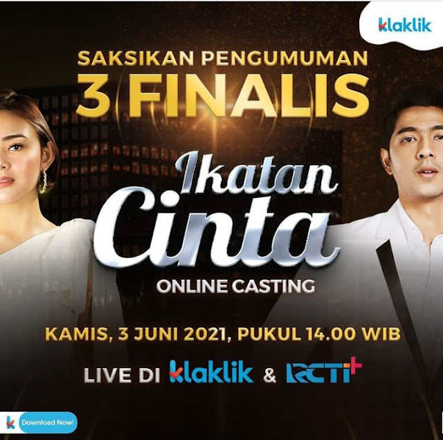 Casting Online finalis Ikatan Cinta
